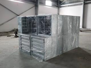 Hệ thống thông gió làm mát nhà xưởng bằng Quạt hút công nghiệp và Tấm làm mát coolingpad