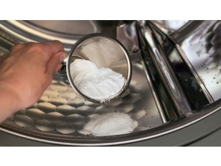 Hướng dẫn vệ sinh máy giặt bằng baking soda
