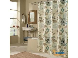 Bí quyết lựa rèm phù hợp với phòng tắm