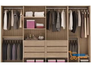 Những kiểu tủ quần áo mở được ưa chuộng hiện nay